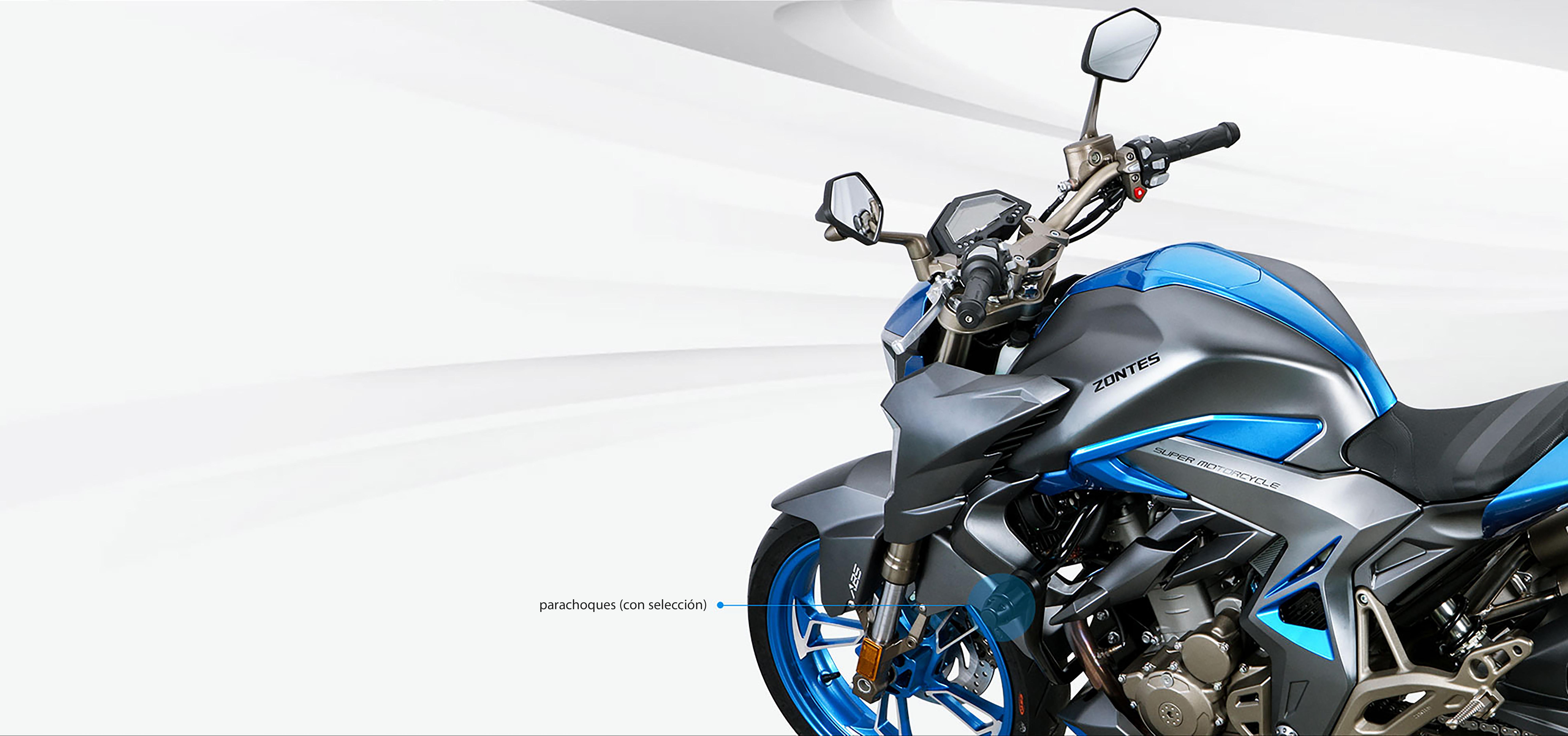 310 R - Zontes Zontes 310 R, la moto du futur disponible